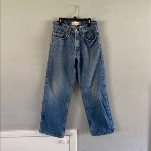 Levi Straight Denim Jeans